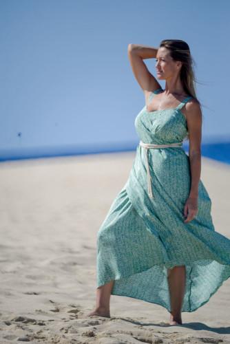 The Anna - silk wrap dress