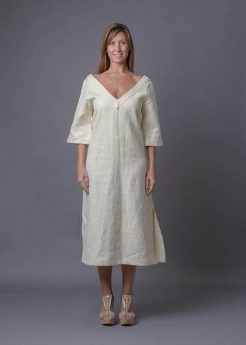 The Contessa - V-neck midi dress