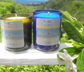 Bottles Reimagined for Island Contessa candles